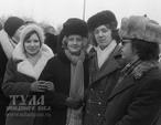 Смотрим и слушаем внимательно: советская мода, музыка 60-х годов.