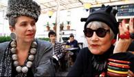 Американские пенсионерки дают интервью